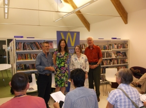 Romsey Poetry Reading July 2014 001