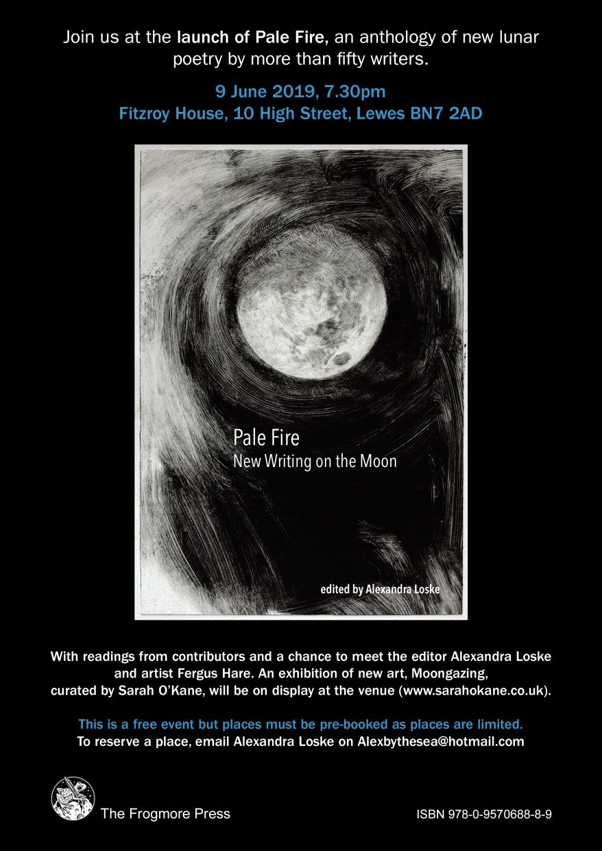 Pale Fire launch poster